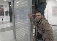 تفصيل شبابيك حماية أبواب  حديدي هيكل حديدي   مصعد صناعي 0795768938
