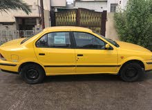 Yellow Iran Khodro Samand 2009 for sale