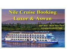 اقوي عروض الرحلات النيلية نايل كروزز  الاقصر واسوان علي فنادق عائمة فاخرة 5 نجوم ديلوكس