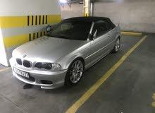 BMW 330 car for sale 2001 in Amman city