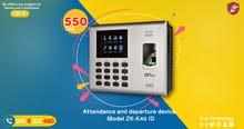 Zkteco- Fingerprint Time Attendance Device ZK-K40 ID