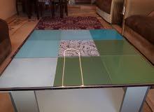 طاولة وسط طول 90 عرض 90 عمان جبيهة