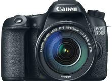 4.5 out of 5 stars948Reviews  Canon EOS 70D - 20.2 MP, SLR Camera, Black, 18-1