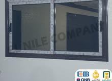 تقسيط كل انواع الالوميتال مع شركة النيل بدون فوايد او مقدم