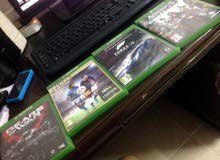 Xbox One With 2 Controllers and 5 Games