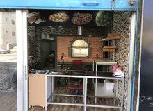 مطعم بيتزا  ايطالية و مناقيش لبنانية للبيع في مرج الحمام