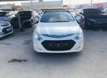 White Hyundai Sonata 2014 for sale