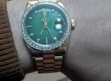ساعة رولكس أصلية ذهب و ألماس  Rolex gold with Diamond