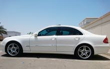 White Mercedes Benz E 320 2004 for sale