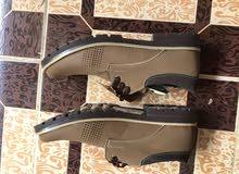 حذاء جلد  مقاس 42