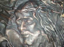 صوره للسيد المسيح من جلد الغزال قديمه ونادره