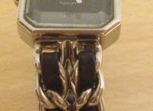 Black & silver watch
