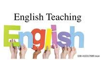مُدرسة لغة أنكليزية