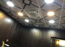 تغليف بلاستك جدران اسقف ثانوية CNC