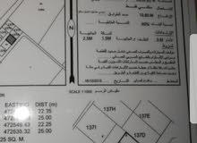 قطعتين ارض شبك   للبيع في صحار