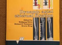 كتاب لطلبة الطب بعنوان : Dynamic axial external fixation