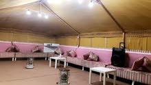 مخيم للايجار -المطلاع كيلو 10 قريب علي الشارع