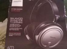 Philips-Hifi stereo headphones-SHP2500 نظيفة جدًا جدًا.