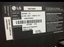 شاشة ال جي 43 بوصة استخدام نظيف وبسيط جدا