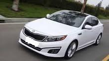 Gasoline Fuel/Power car for rent - Kia Optima 2019