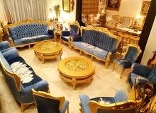 للتميز عنوان Royalsofa اطقم كنب شيوخ كلاسيكية ملكية جديدة مصنعة من خشب الزان