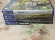 PS4CDsللمقايضة