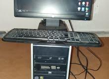جهاز كمبيوتر مكتبي نوع hp