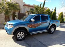 Blue Mitsubishi L200 2008 for sale