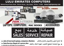 CCTV, LAPTOPS, COMPUTERS, MACBOOKS AND TABLETS