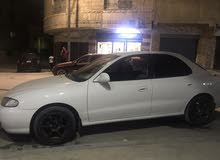 Automatic White Hyundai 1997 for rent
