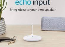 جهاز أليكسا echo input من شركة أمازون