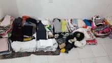 فرصة للتجار الف قطعة ملابس حريمي ورجالي واطفال جميع المقاسات الاسعار من 100فلس