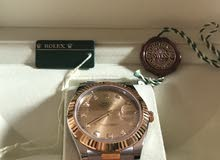 rolex watch gold and diamonds the price is negotiable