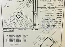 ارض للبيع في العامرات مدينة النهضة كورنر مرحله 16
