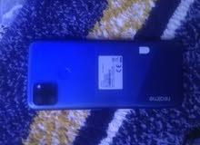 موبايل ريلمي C12 مكسورة شاشة للبيع