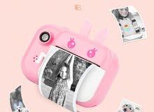 كاميرا اطفال بطباعة سحرية