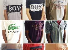 ملابس من ماركات عالميه للبيع بسعر 4 دينار فقط