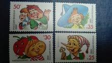 طوابع روسيا ( شخصيات كتب الاطفال)