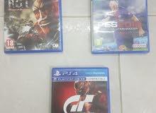 بيع أشرطة PS4