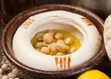 حمص مطحون ناعم بالكيلو للمطاعم