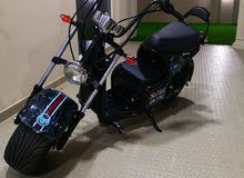 دراجه كهربائيه شكل هارلي