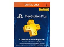 Three Month Sony PlayStation Plus Subscription for PSN PS3 / PS4 USA [US] 90 days