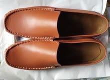 حذاء جلد طبيعي صيفي