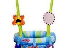baby doorway jumper . original price  400, barely used for sale for 200