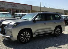 White Lexus LX 2018 for sale