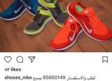 احذية نايك نسائي ورجالي متوفر مقاسات 45/35