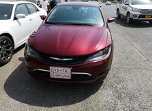 Chrysler 200 made in 2016 for sale