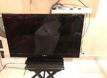 للبيع شاشة نوع سوني لون اسود LCD
