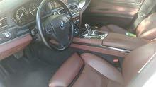 BMW 740 li للبيع موديل 2011