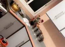 مطبخ الومنيوم طبقتين نظيف جدا
